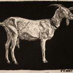 Robert Weaver, Penny, etching (6/10), 1983