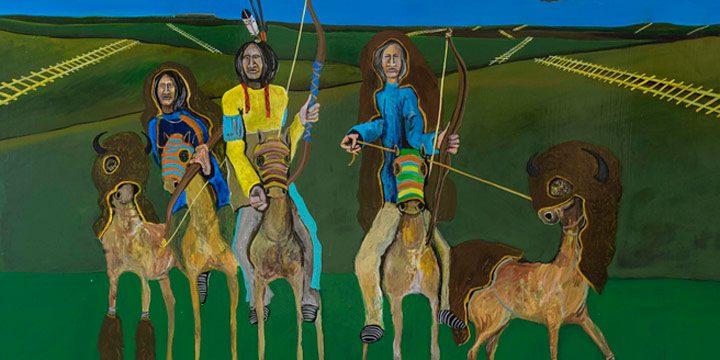 The Horse Nation of the Očhéthi Šakówiŋ