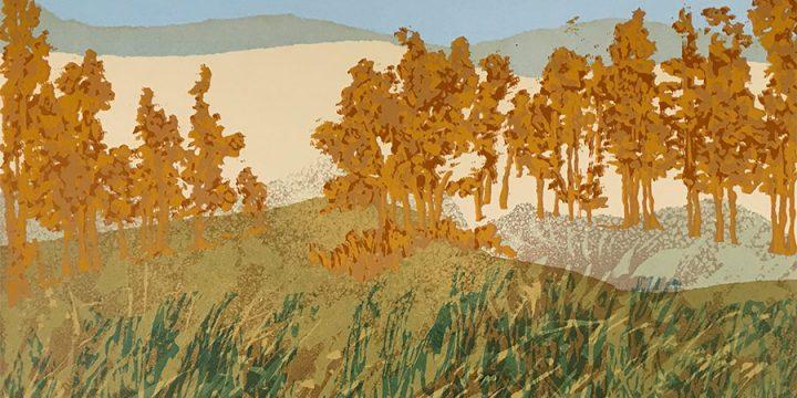 Michael H. Sanden, American Landscape #1, silkscreen (18/20), 1980