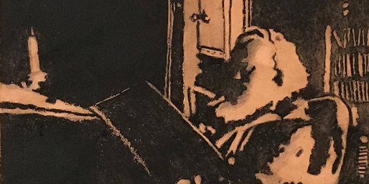 Jean Welstead, Old Man, intaglio (5/10), n.d.