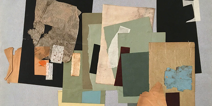 Richard C. Hagelberger, Untitled (collage), collage, n.d.