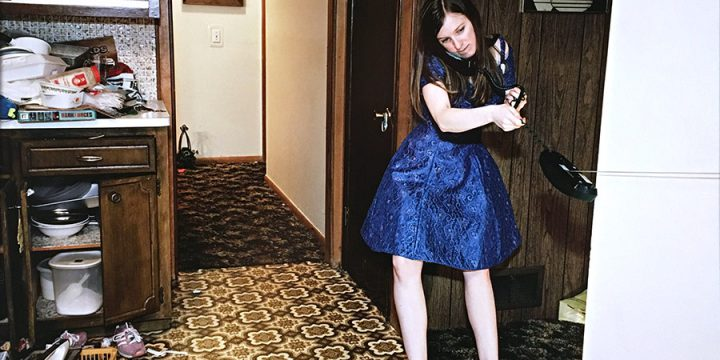 Bradley Peters, Untitled (girl in blue dress), color photograph, 2008