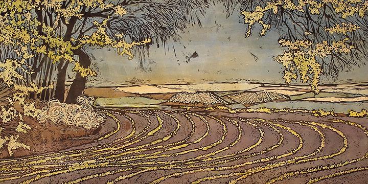 Kristine Allphin, April Landscape