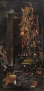 Emery Abraham (Donald), Forbes, The Pool – The Ideal Landscape, oil 1933