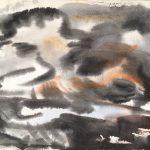Freda Spaulding, Storm, watercolor n.d