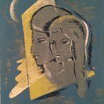 Freda Spaulding, Moon Glow, serigraph (1/20), n.d.