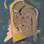 Freda Spaulding, Moon Glow, serigraph (15/20), n.d.