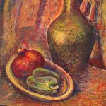 Freda Spaulding, VII - 4 (still life), gouache, n.d.