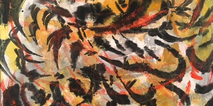 Freda Spaulding, Birds and Beasts, watercolor, n.d.