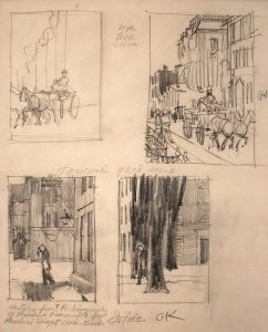 John Falter, Sketches for T. R. (biographical novel of Theodore Roosevelt, Reader's Digest Condensed Books)