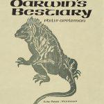 Rudy Pozzatti, Darwin's Bestiary - Title Page with Iguana, artist's book: lithograph (79/191), 1985-1986