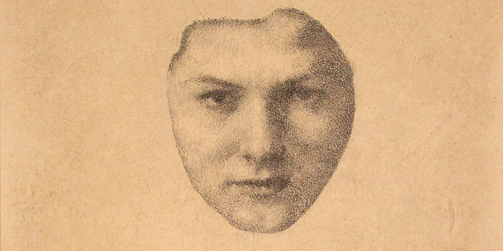Lawton Parker, Isolated Portrait, lithograph, n.d.