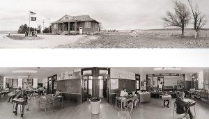 Charles Guildner, Rural Schools of Nebraska: Banner School, digital print, 2005