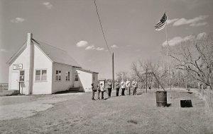 Charles Guildner, Rural Schools of Nebraska: Bodarc School, digital print, 2004