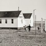 Charles Guildner, Rural Schools of Nebraska: Cottonwood Creek School, digital print, 2005
