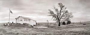 Charles Guildner, Rural Schools of Nebraska: Daly School, digital print, 2003