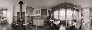 Charles Guildner, Rural Schools of Nebraska: Restored School, Ellsworth School, digital print, 2005