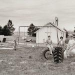 Charles Guildner, Rural Schools of Nebraska: Elsmere School, digital print, 2003