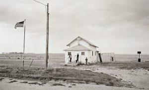 Charles Guildner, Rural Schools of Nebraska: Hill View School, digital print, 2004