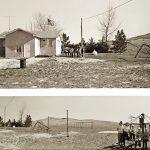 Charles Guildner, Rural Schools of Nebraska: Pink School, digital print, 2004