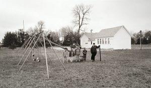 Charles Guildner, Rural Schools of Nebraska: Pioneer School, digital print, 2005