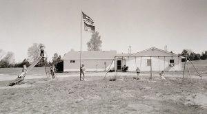 Charles Guildner, Rural Schools of Nebraska: Rose Hill School, digital print, 2004