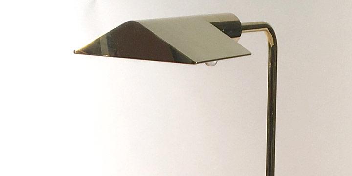 Cedric Hartman, Low Profile Luminaire-1UWV, chromium plate, brass, 1969