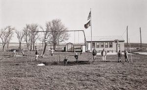 "Charles Guildner, Rural Schools of Nebraska 2: Antelope School, digital photograph, c. 2013, 13 × 19"""