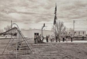 """Charles Guildner, Rural Schools of Nebraska 2: Brownlee School, digital photography, c. 2013, 13 × 19"""""""
