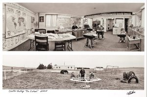 """Charles Guildner, Rural Schools of Nebraska 2: Center Valley """"Tin"""" School, digital photograph, c. 2013, 13 × 19"""""""