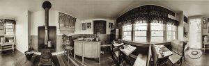"""Charles Guildner, Rural Schools of Nebraska 2: Ellsworth School, digital photograph, c. 2013, 13 × 19"""""""