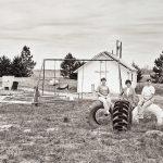 """Charles Guildner, Rural Schools of Nebraska 2: Restored School, Ellsworth, Nebraska, digital photograph, c. 2013, 13 × 19"""""""
