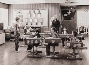 "Charles Guildner, Rural Schools of Nebraska 2: Peaceful Plains School, digital photograph, c. 2013, 13 × 19"""