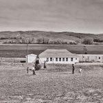 """Charles Guildner, Rural Schools of Nebraska 2: Pioneer School, digital photograph, c. 2013, 13 × 19"""""""