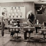 "Charles W. Guildner, Rural Schools of Nebraska 2: Round Hill School, digital photograph, c. 2013, 13 × 19"""