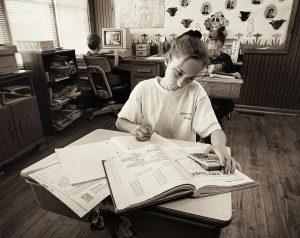 "Charles W. Guildner, Rural Schools of Nebraska 2: Round Hill School - Chelsey Jones, digital photograph, c. 2013, 13 &times 19"""