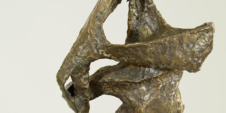 Katherine Nash, Fallen Angel, bronze, n.d.