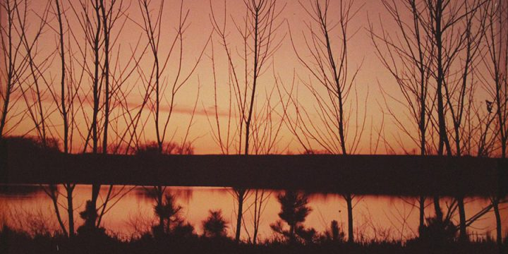 William Jamison, Evening Tranquility – Auburn, Nebraska, color photograph, 1986