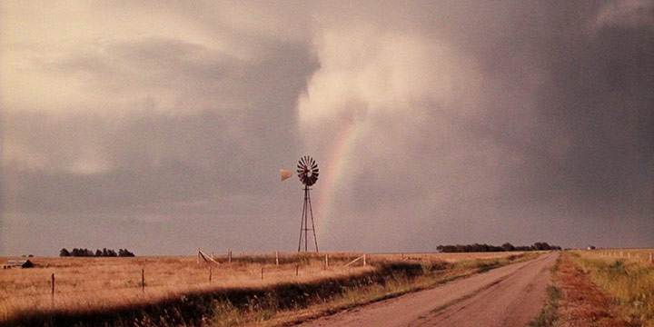 William Jamison, After the Rain – Springview, Nebraska, color photograph, 1986