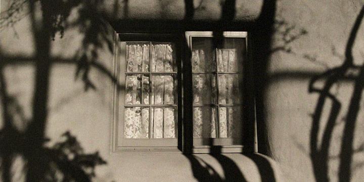 George Tuck, Shadows of Memories, Santa Fe, N.M., black & white, photograph, 1998