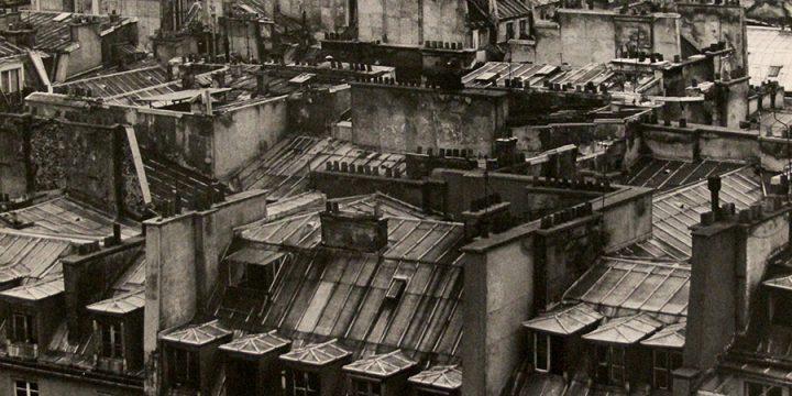 George Tuck, The Paris I Know, Paris, France, black & white photograph, 1978