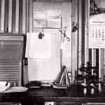 Wright Morris, Train Depot, Panama, Nebraska, 1947