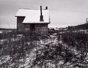 Wright Morris, Abandoned Farmhouse in Winter, Nebraska, 1941