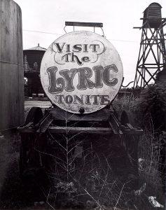 Wright Morris, Visit the Lyric Tonite, Central City, Nebraska, 1947