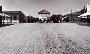 Wright Morris, Band Stand, Liberty, Nebraska, 1947