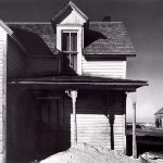 Wright Morris, Abandoned Farmhouse with Drifted Snow on Porch, Nebraska, 1941