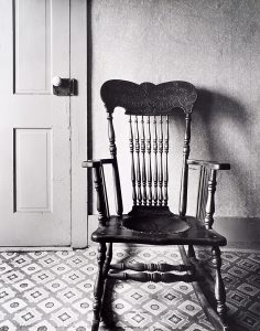 Wright Morris, Chair by Door, The Home Place, Near Norfolk, Nebraska, 1947