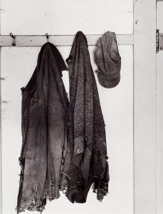 Wright Morris, Clothing on Hooks, The Home Place, Near Norfolk, Nebraska, 1947