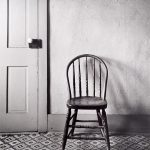 Wright Morris, Round-backed Chair by Door, The Home Place, Near Norfolk, Nebraska, 1947