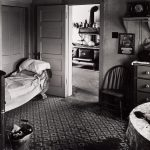 Wright Morris, Living Room, View into Kitchen, Ed's Place, Near Norfolk, Nebraska, 1947